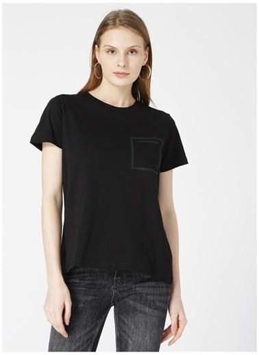 Black On Black Black On Black Mantova Siyah Kadın T-Shirt Siyah